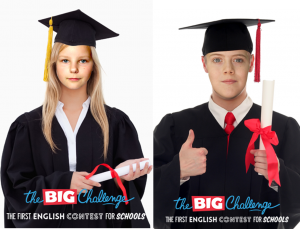 Boy and Girl Grads