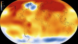 World temperatures